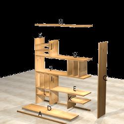 Accueil woodself le site des plans de meubles gratuits - Logiciel fabrication meuble gratuit ...